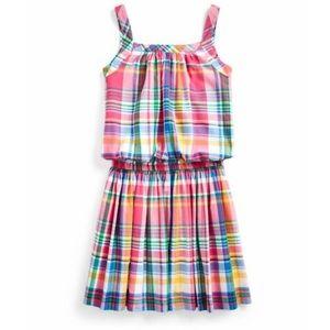 POLO Ralph Lauren Pink Button-Front Dress